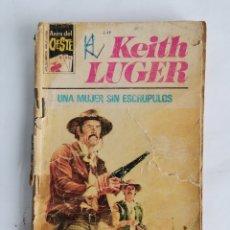 Libros de segunda mano: UNA MUJER SIN ESCRÚPULOS KEITH LUGER ASES DEL OESTE. Lote 254054110