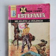 Libros de segunda mano: ME ASUSTA LA VIOLENCIA ESTEFANIA MARCIAL LAFUENTE. Lote 254054445