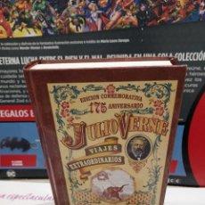 Libros de segunda mano: CINCO SEMANAS EN GLOBO......JULIO VERNE...VIAJES EXTRAORDINARIOS....2004...... Lote 254212970