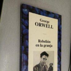Libros de segunda mano: REBELIÓN EN LA GRANJA / GEORGE ORWELL / RBA 1994. Lote 254256340