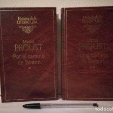 Libros de segunda mano: LIBRO 2 TOMOS - POR EL CAMINO DE SWANN - VARIOS - MARCEL PROUST - HISTORIA LA LITERATURA. Lote 254291705