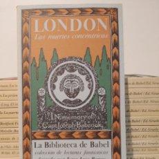 Libros de segunda mano: LA BIBLIOTECA DE BABEL. SIRUELA TOMOS 1-14. BORGES. FRANCO MARÍA RICCI LONDON MEYRINK ALARCÓN PAPINI. Lote 254411640