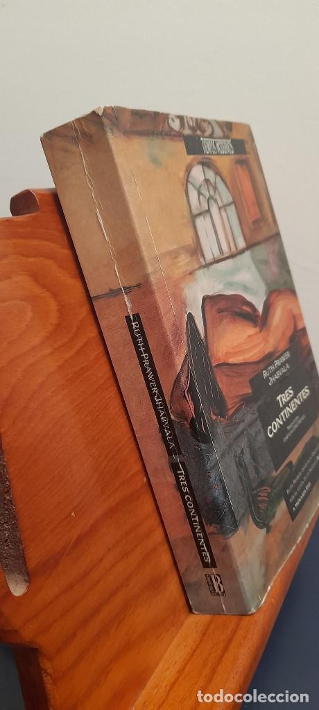 Libros de segunda mano: RUTH PRAWER JHABVALA - TRES CONTINENTES - Foto 2 - 254449095