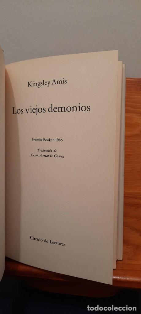 Libros de segunda mano: Los viejos demonios - Foto 7 - 254451770
