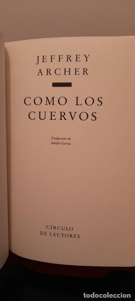Libros de segunda mano: COMO LOS CUERVOS - Foto 8 - 254454170