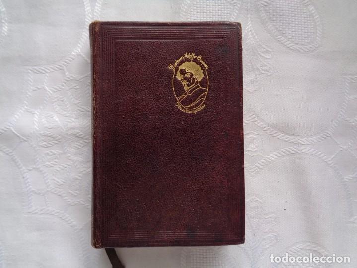 GUSTAVO ADOLFO BÉCQUER. OBRAS COMPLETAS. 1942. PRÓLOGO DE SERAFÍN Y JOAQUÍN ÁLVAREZ QUINTERO. (Libros de Segunda Mano (posteriores a 1936) - Literatura - Narrativa - Otros)