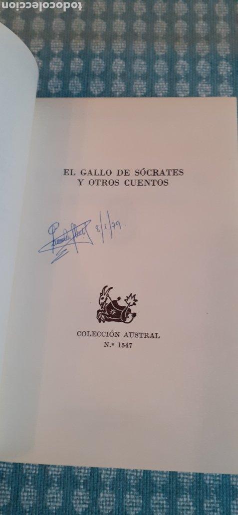 Libros de segunda mano: El Gallo se Socrates y otros Cuentos,1° edición, 1973 - Foto 3 - 254589680