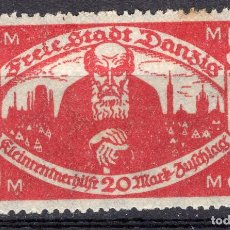 Libros de segunda mano: DANZIG, CIUDAD LIBRE , 1923, MICHEL 131X, MNX. Lote 254807250