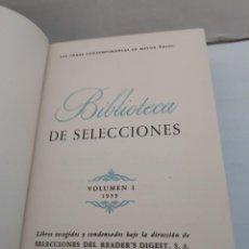 Libros de segunda mano: 25878 - BIBLIOTECA DE SELECCIONES - OBRAS CONTEMPORANEAS DE MAYOR EXITO - 4 OBRAS - AÑO 1959. Lote 254901260
