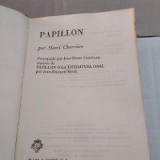 Libros de segunda mano: 25333 - PAPILLON - POR HENRI CHARRIERE - EDITORIAL PLAZA & JANES - AÑO 1970. Lote 254901865