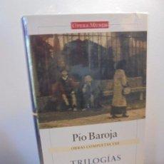 Libros de segunda mano: PIO BAROJA. OBRAS COMPLETAS VIII. TRILOGIAS III. CIRCULO DE LECTORES. OPERA MUNSI. SIN DESPRECINTAR. Lote 255447805