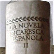 Libri di seconda mano: VARIOS - LA NOVELA PICARESCA ESPAÑOLA Vº2. Lote 255965520