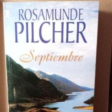Libros de segunda mano: SEPTIEMBRE -- ROSAMUNDE PILCHER. Lote 256008670