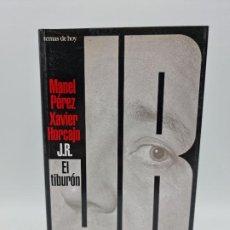Libros de segunda mano: EL TIBURON. MANUEL PEREZ. ED. TEMAS DE HOY. 1ºED. MADRID, 1996. PAGS: 455.. Lote 256151535