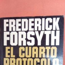 Libros de segunda mano: EL CUARTO PROTOCOLO. FREDERICK FORSYTH. PLAZA & JANES EDITORES.. Lote 256152785