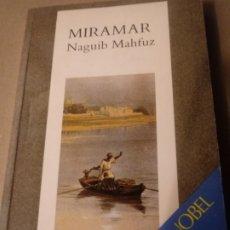 Libros de segunda mano: MIRAMAR DE NAGUIB MAHFUZ.PREMIO NOBEL.EN CATALAN.. Lote 257322500