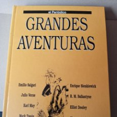 Libros de segunda mano: GRANDES AVENTURAS - TOMO 4 - ED. EL PERIODICO - VER FOTOS. Lote 257501095