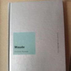 Libros de segunda mano: CHRISTINA ROSSETTI - MAUDE. Lote 257507575