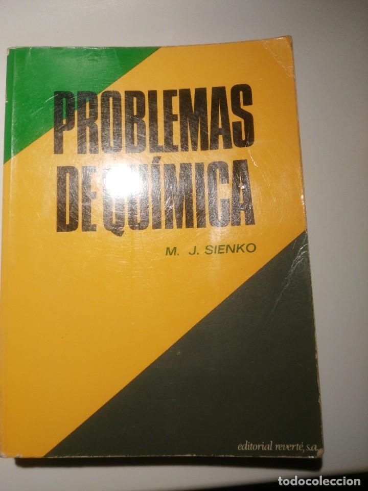 PROBLEMAS DE QUIMICA, EDITORIAL REVERTE S.A (Libros de Segunda Mano (posteriores a 1936) - Literatura - Narrativa - Otros)