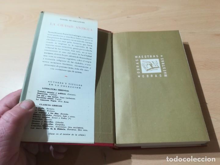 Libros de segunda mano: LA CIUDAD ANTIGUA / FUSTEL DE COULANGES / IBERIA / AG57 - Foto 3 - 258080785