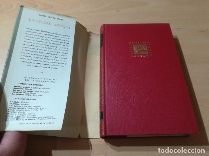Libros de segunda mano: LA CIUDAD ANTIGUA / FUSTEL DE COULANGES / IBERIA / AG57 - Foto 4 - 258080785
