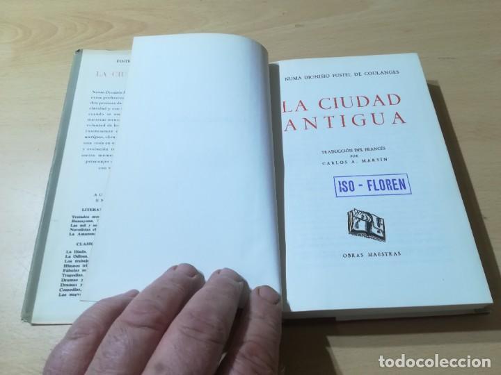 Libros de segunda mano: LA CIUDAD ANTIGUA / FUSTEL DE COULANGES / IBERIA / AG57 - Foto 5 - 258080785