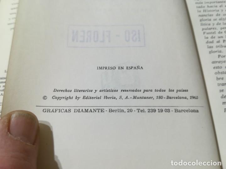 Libros de segunda mano: LA CIUDAD ANTIGUA / FUSTEL DE COULANGES / IBERIA / AG57 - Foto 8 - 258080785