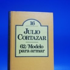 Libri di seconda mano: 62/ MODELO PARA ARMAR. JULIO CORTAZAR. CLUB BRUGUERA. 1ª EDICION. 1980. PAGS. 284.. Lote 260020270