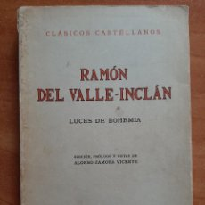 Libros de segunda mano: 1973 LUCES DE BOHEMIA - VALLE - INCLÁN. Lote 260611770