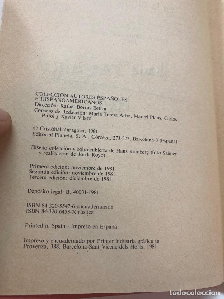 Libros de segunda mano: Y DIOS EN LA ÚLTIMA PLAYA POR CRISTÓBAL ZARAGOZA 3a EDICIÓN 1981 - Foto 7 - 260852125