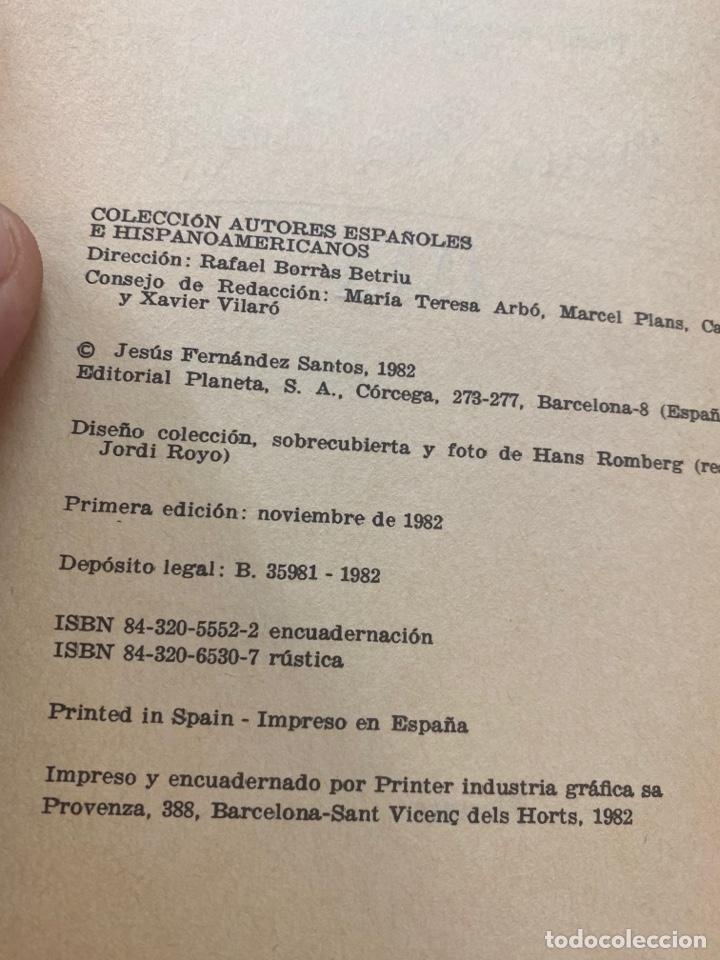 Libros de segunda mano: JAQUE A LA DAMA POR JESÚS FERNANDEZ SANTOS 1a EDICIÓN 1982 - Foto 7 - 260853005