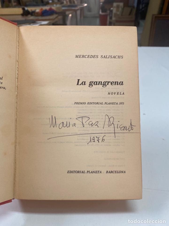 Libros de segunda mano: LA GANGRENA POR MERCEDES SALISACHS 14a EDICIÓN 1976 - Foto 8 - 260856840