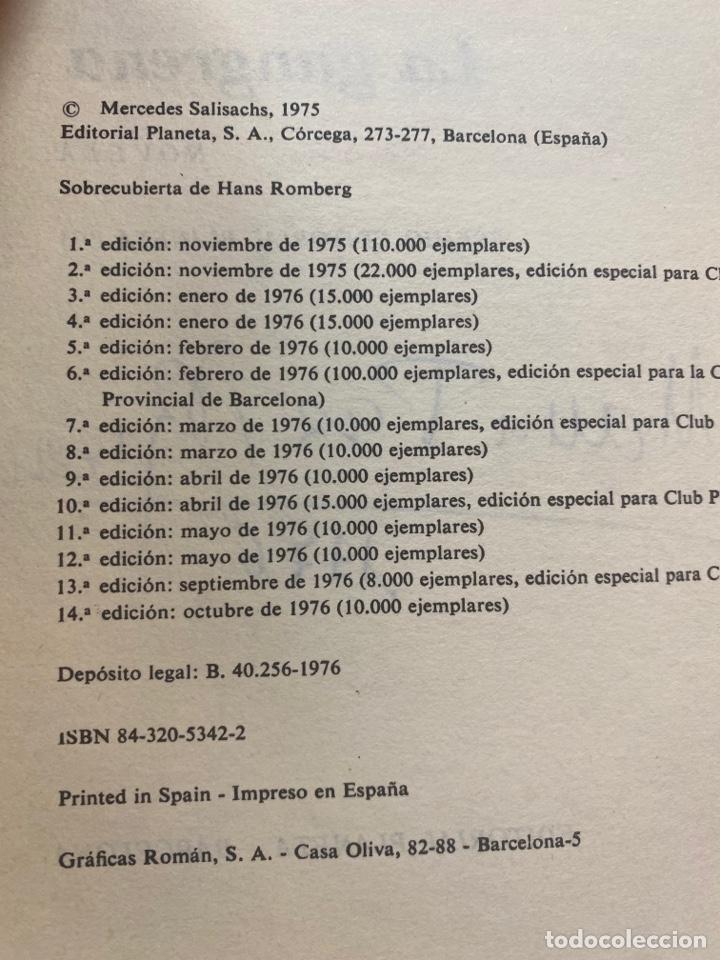 Libros de segunda mano: LA GANGRENA POR MERCEDES SALISACHS 14a EDICIÓN 1976 - Foto 9 - 260856840