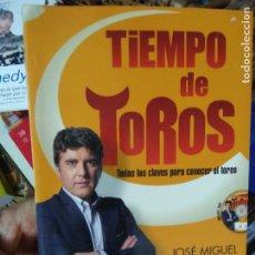 Libros de segunda mano: TIEMPO DE TOROS, JOSÉ MIGUEL MARTÍN DE BLAS. L.25128. Lote 260988095