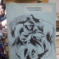 Libros de segunda mano: UNIVERSIDAD DE LA HABANA Nº 246. L.25183. Lote 261110100