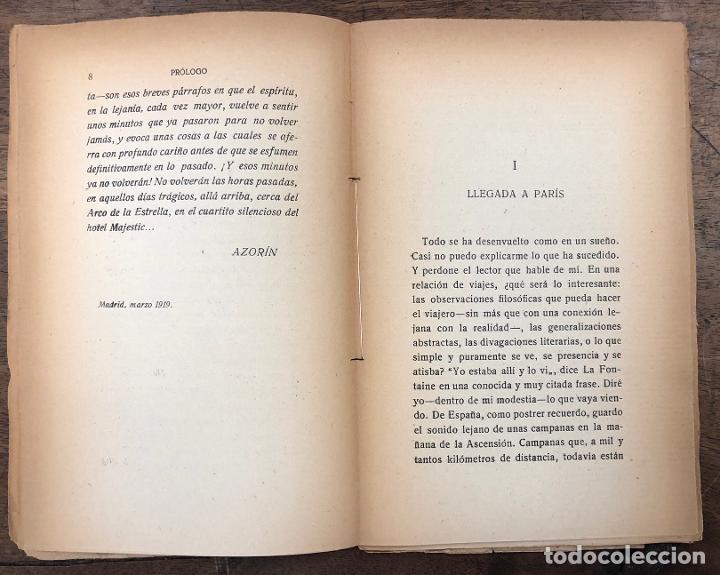 Libros de segunda mano: PARIS BOMBARDEADO. AZORIN. RENACIMIENTO, 1919. 1ª EDICION - Foto 2 - 261212440