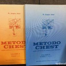 Libros de segunda mano: MÉTODO CHEST: CURSO COMPLETO DE MNEMOTECNIA PRÁCTICA EN 2 VOLS.: VOLUMEN A (TOMOS 1 Y 2) Y VOLUMEN B. Lote 261353915