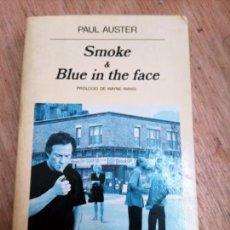 Libros de segunda mano: PAUL AUSTER: SMOKE & BLUE IN THE FACE. Lote 261570140