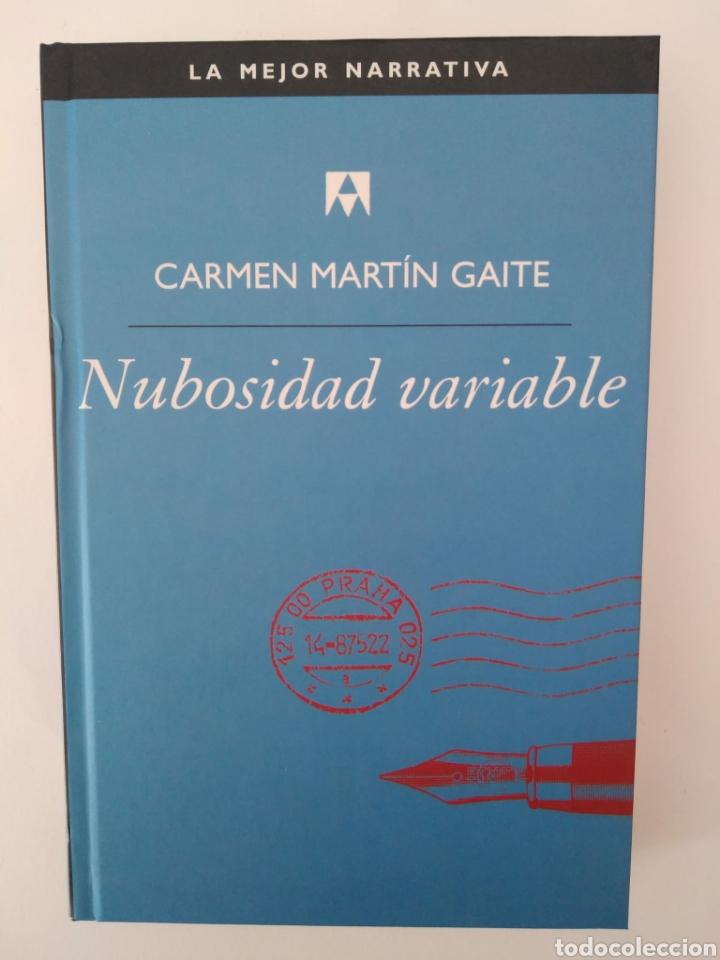NUBOSIDAD VARIABLE / CARMEN MARTÍN GAITE. (Libros de Segunda Mano (posteriores a 1936) - Literatura - Narrativa - Otros)