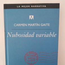 Libros de segunda mano: NUBOSIDAD VARIABLE / CARMEN MARTÍN GAITE.. Lote 261587275