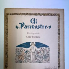 Libros de segunda mano: L-6003. EL PARENOSTRE PER A INFANTS, ILUSTRACIONS DE LOLA ANGLADA.. Lote 261791805