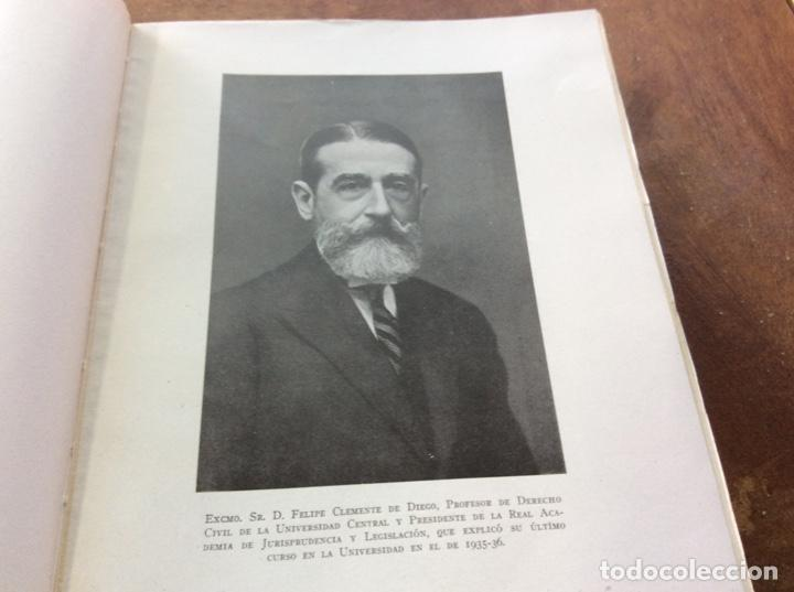 DON FELIPE CLEMENTE DE DIEGO. CATEDRÁTICO. (Libros de Segunda Mano (posteriores a 1936) - Literatura - Narrativa - Otros)