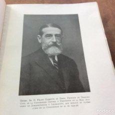 Libros de segunda mano: DON FELIPE CLEMENTE DE DIEGO. CATEDRÁTICO.. Lote 261841750