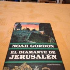 Libri di seconda mano: M-35 LIBRO CIRCULO EL DIAMANTE DE JERUSALEN NOAH GORDON. Lote 262000835