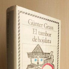 Libros de segunda mano: EL TAMBOR DE HOJALATA. GÜNTER GRASS. CÍRCULO DE LECTORES, COLECCIÓN BIBLIOTECA DE PLATA.. Lote 262388175