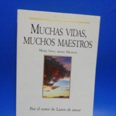 Libros de segunda mano: MUCHAS VIDAS, MUCHOS MAESTROS. MANY LIVES, MANY MASTERS. BRIAN WEIS. EDICIONES B. 1997. PAGS. 256.. Lote 277643243
