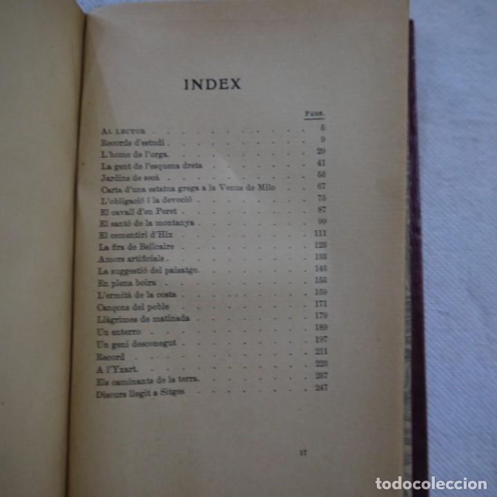 Libros de segunda mano: ANANT PEL MÓN - SANTIAGO RUSIÑOL - LIBRERÍA ESPAÑOLA - 3.ª EDICION - CATALAN Y TAPA DURA - Foto 2 - 262590085