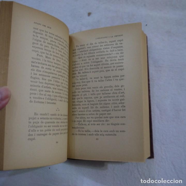 Libros de segunda mano: ANANT PEL MÓN - SANTIAGO RUSIÑOL - LIBRERÍA ESPAÑOLA - 3.ª EDICION - CATALAN Y TAPA DURA - Foto 3 - 262590085