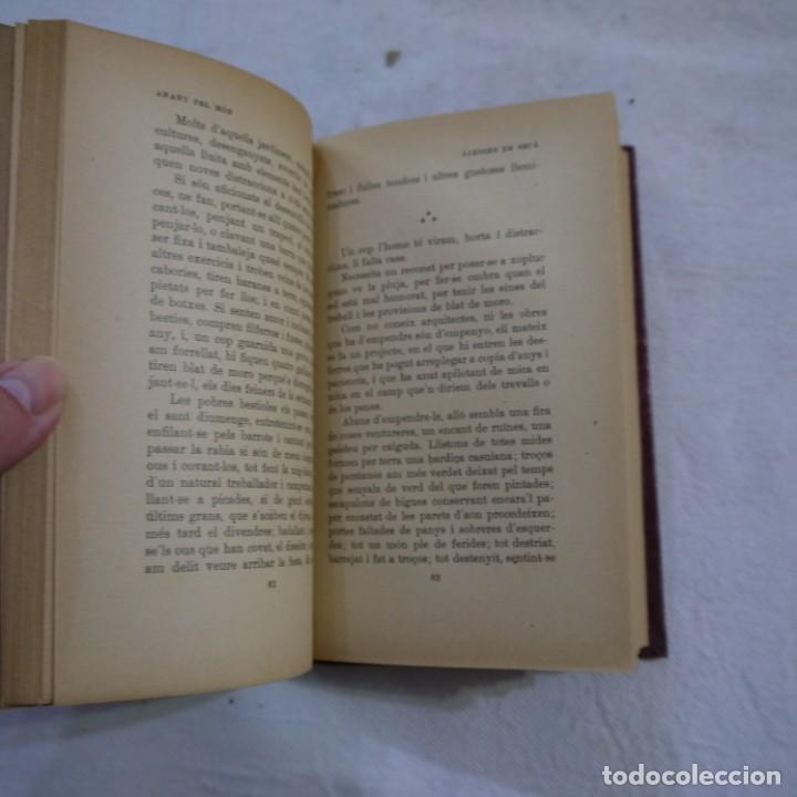 Libros de segunda mano: ANANT PEL MÓN - SANTIAGO RUSIÑOL - LIBRERÍA ESPAÑOLA - 3.ª EDICION - CATALAN Y TAPA DURA - Foto 4 - 262590085
