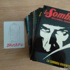 Livros em segunda mão: LA SOMBRA, EDITORIAL ATE, COLECCIÓN COMPLETA DIEZ TOMOS, MAXWELL GRANT, PULP. Lote 262687370